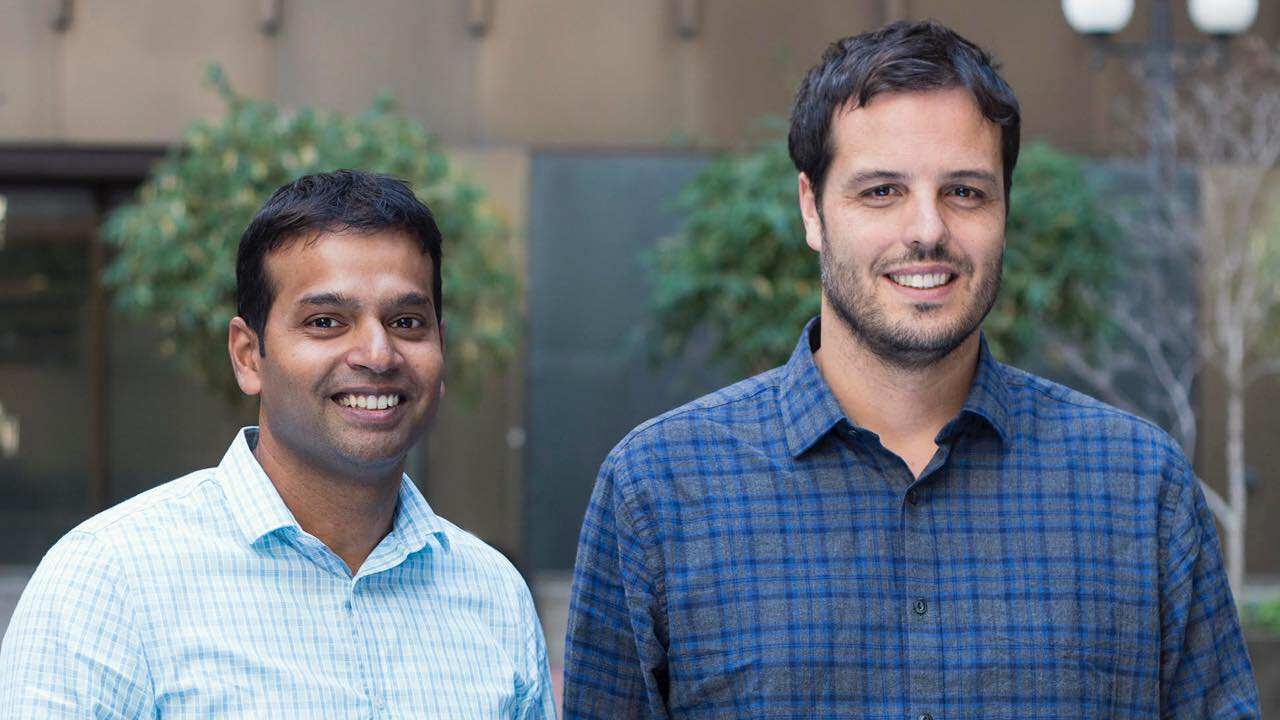ThousandEyes CEO Mohit Lad and co-founder and CTO Ricardo Oliveira
