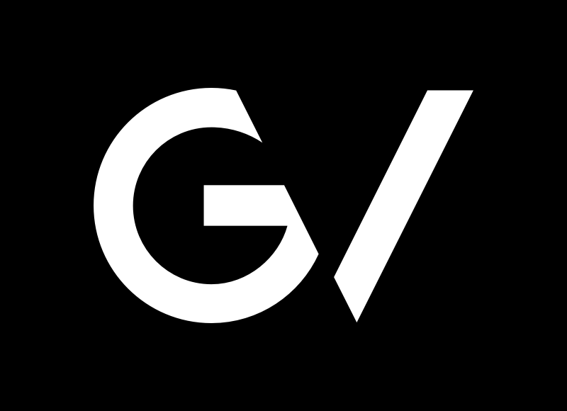 GV Logo on black